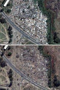 Distruction of Harare Shantytown